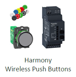 Schneider Electric Industrial Harmony Wireless Push Buttons
