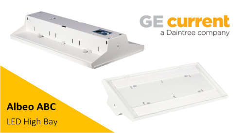 Albeo ABC High Bay Luminaire GE Current Solutions