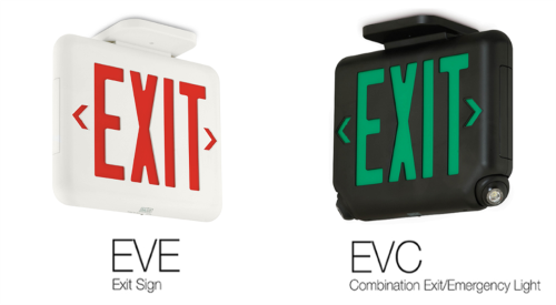 Hubbell Lighting Solutions Exit Sign/Emergency Light