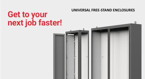 Hoffman Universal Free-Stand Enclosures