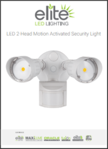 Elite Motion Activated LED Security Light New Products