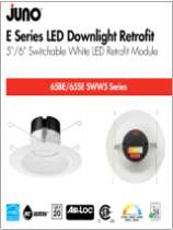 New Products JUNO  E Series LED Module with Switchable White