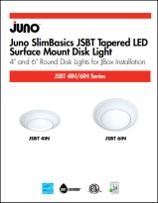 New Products Juno SlimBasics Tapered LED