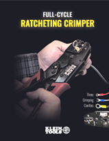 Klein Tools Ratcheting Crimper
