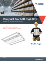 New Products Lithonia Compact Pro