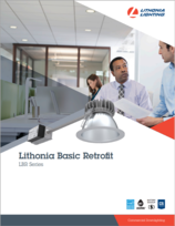 New Products Lithonia LBR Retrofit Downlighting