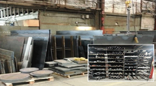 In Stock Steel Selection