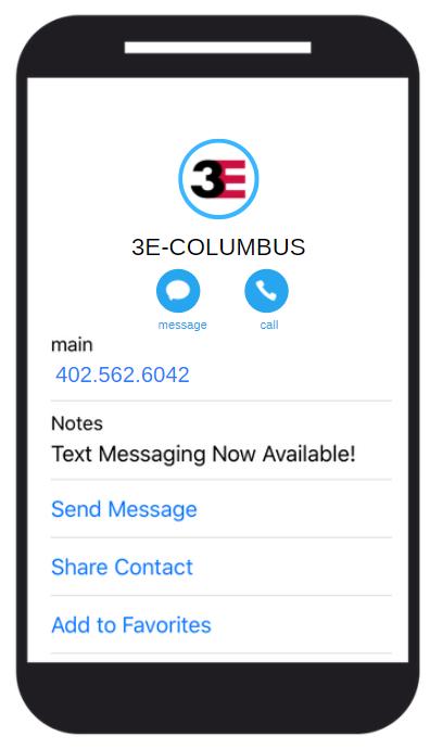 3E Texting Coliumbus