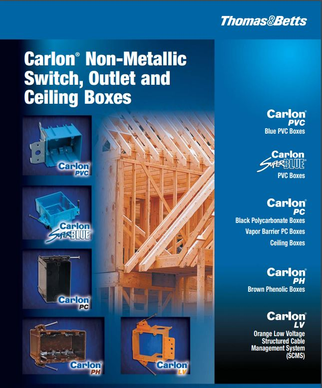 Carlon New Products