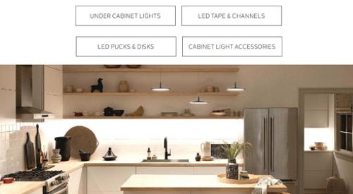 Residential Cabinet Lighting